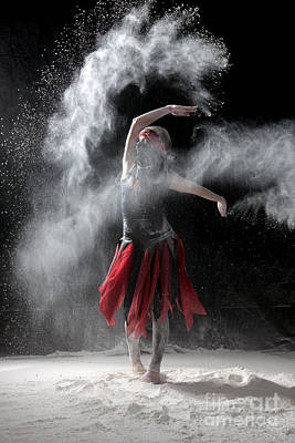 Dance Photograph - Flour Dancer Series by Cindy Singleton