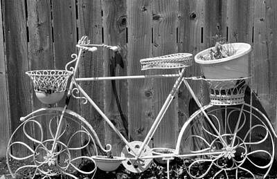 Flower Bike Art Print