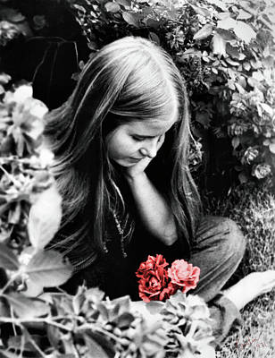 Flower Child Photograph - Flower Child 1971 by Kristin Elmquist