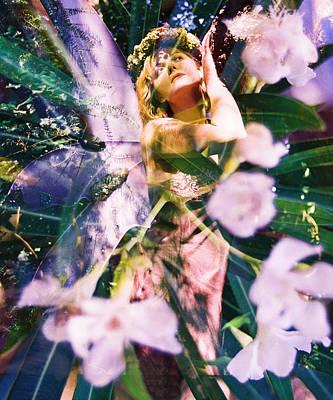 Flower Faerie Dreams Art Print by Cyoakha Grace