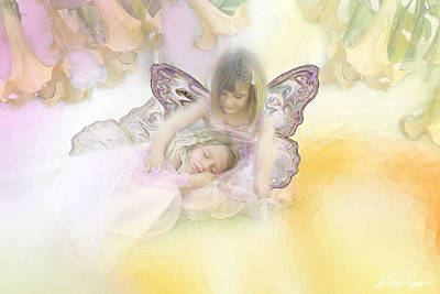 Photograph - Flower Fairies by Diana Haronis