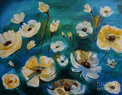 Painting - Flower Finesse by Leslie Allen