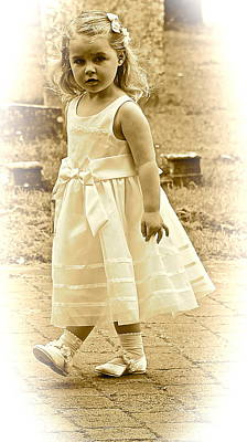 Photograph - Flower Girl by Karen Grist