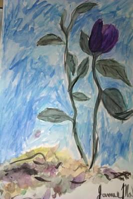Flower Art Print by Jamie Mah