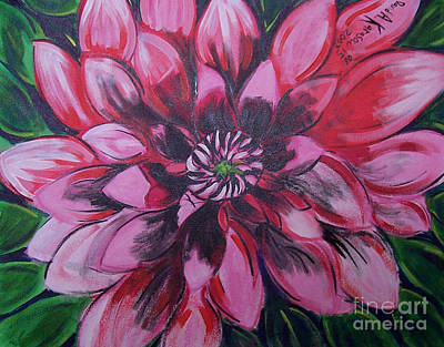 Painting - Flower P by David Karasow