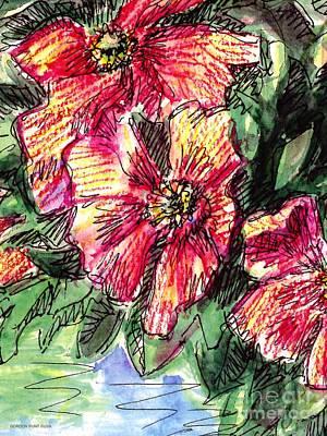 Flower Paintings Ma 1 Art Print