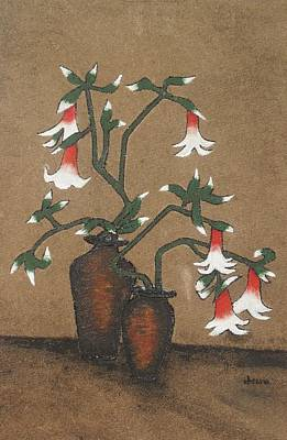 Painting - Flower Pot by Rejeena Niaz