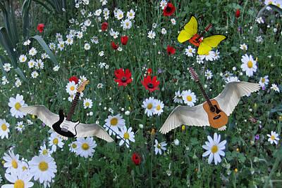 Digital Art - Flower Power  by Eric Kempson
