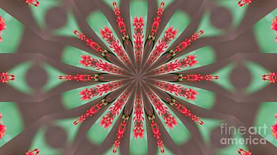 Digital Art - Flower Power by Mareko Marciniak