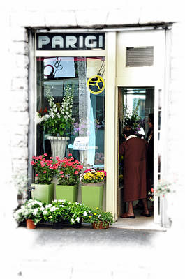 Photograph - Flower Shop by Allan Rothman