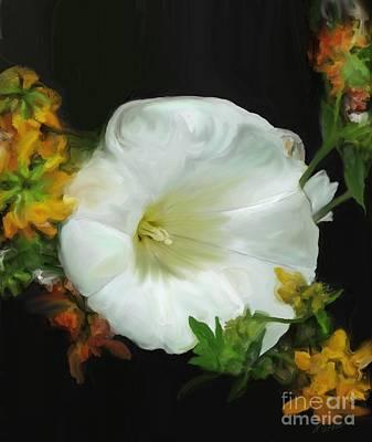 Painting - Flower Splendor by Methune Hively