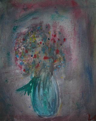 Painting - Flower Vase by Lee Farley