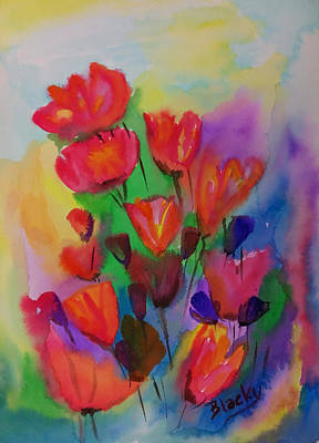 Painting - Flowers Du Jour by Donna Blackhall