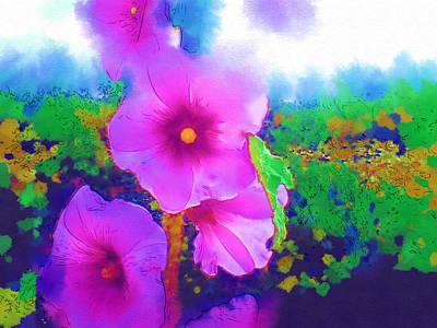 Beuty Digital Art - Flowers by Gavriel Hanimov