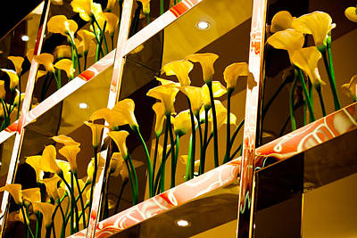 Photograph - Flowers In A Casino by Anthony Doudt