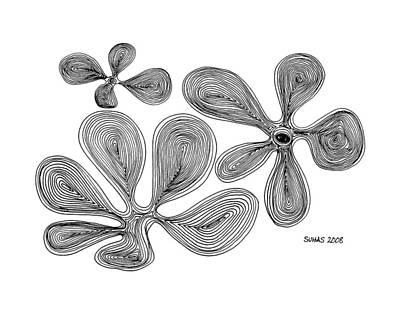 Flowers Art Print by Suhas Tavkar