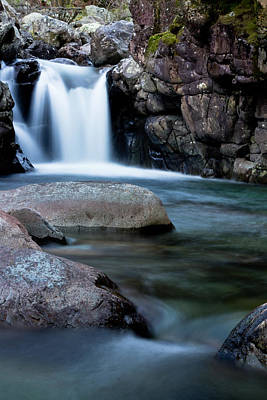 Photograph - Flowing Falls by Justin Albrecht