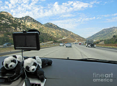 Photograph - Floyd And Ginny Travelling In Southern California by Ausra Huntington nee Paulauskaite