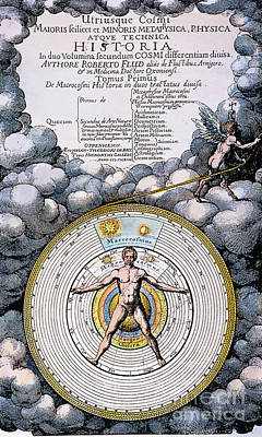 Fludd: Title-page, 1617 Art Print