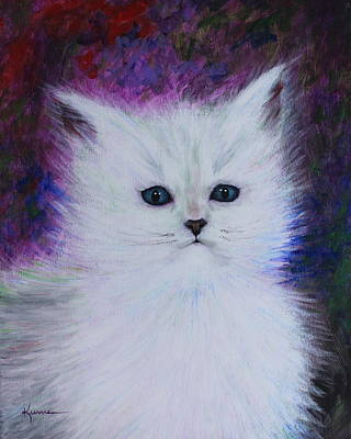 Painting - Fluffy by Kume Bryant