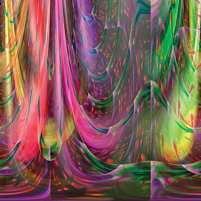 Digital Art - Fluidic Space by Mark Greenberg