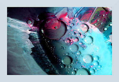 Photograph - Fluidism Aspect 283 Frame by Robert Kernodle