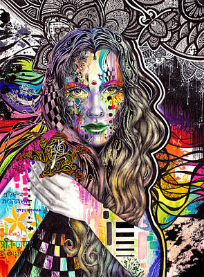 Flux Art Print by Callie Fink