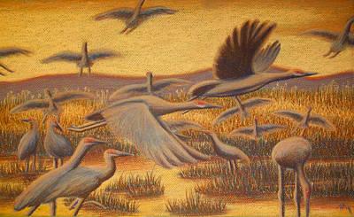 Fly Away Art Print by Thomas Maynard