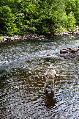 Photograph - Fly Fishing by Jason Smith
