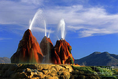 Burning Man Photograph - Fly Geyser by Bob Christopher