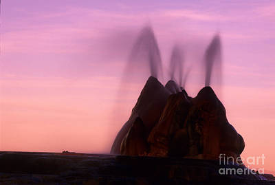 Burning Man Photograph - Fly Geyser Sunset 3 by Bob Christopher