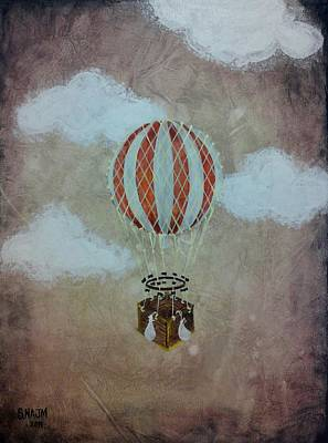 Fly Art Print by Salwa  Najm
