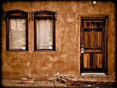 Photograph - Albuquerque, New Mexico - Flyer by Mark Forte