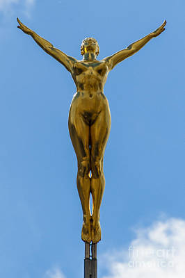 Flying Angel Photograph - Flying Angel by Donald Davis