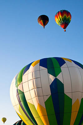 Balloon Photograph - Flying Away by David Patterson