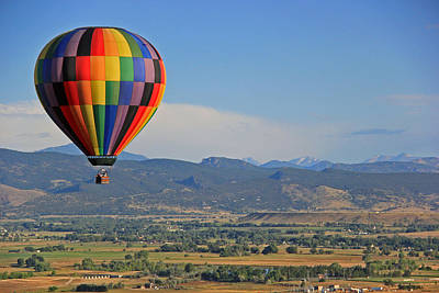 Photograph - Flying Colors by Scott Mahon