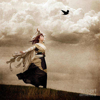 Digital Art - Flying Dreams by Cindy Singleton