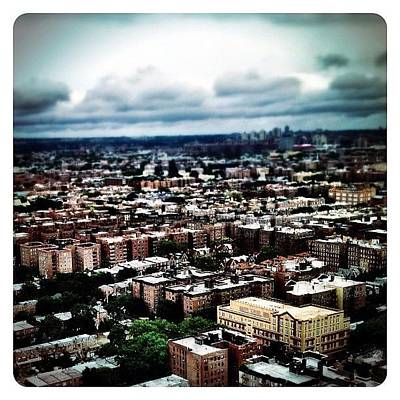 Flying Over Queens Art Print