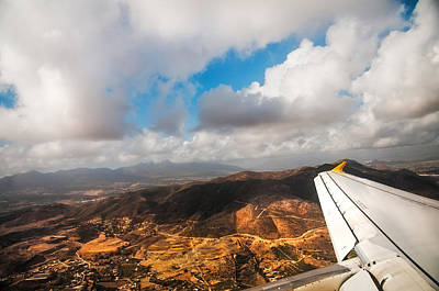 D300 Photograph - Flying Over Spanish Land IIi by Jenny Rainbow