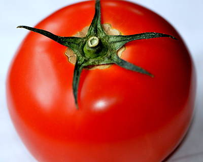 Art Print featuring the photograph Flying Tomato by Tanya Tanski