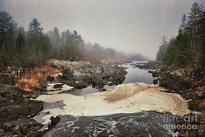 Photograph - Foamy Root Beer River by Mark David Zahn Photography