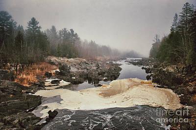 Photograph - Foamy Root Beer River by Mark David Zahn