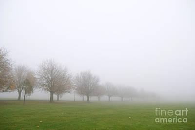 Fog Art Print by Boris Suntsov