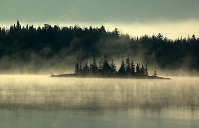 Photograph - Fog Island by Peter DeFina