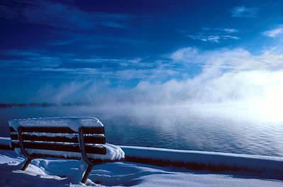 Fog Of Winter Art Print
