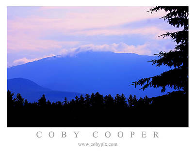 Photograph - Fog On The Mountain by Coby Cooper