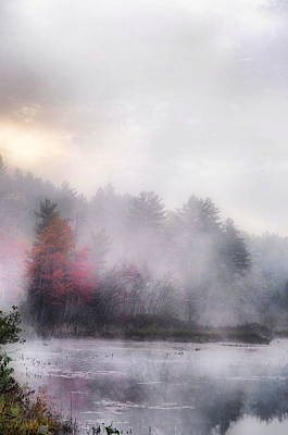Photograph - Fog Rises by Emily Stauring