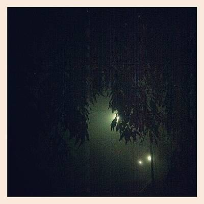 Horror Photograph - #fog #spooky #horror #movie by Zanna Gudgly
