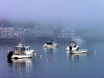 Photograph - Fogged In by Janice Drew