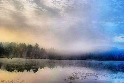 Photograph - Foggy Adirondack by Emily Stauring
